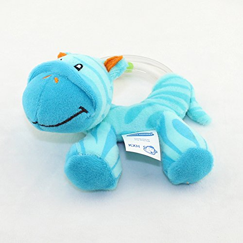 Baby Rassel Animal Hand Bell Plüsch Spielzeug Infant Aktivität Entwicklung Spielzeug für Kinderbett, Kinderwagen, Stuhl, - Aktivitäten Halloween-indoor-spiele Und