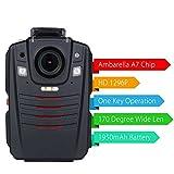 SFHK Polizei Karosserie Kamera Infrarot-Nachtsicht Multifunktional Strafverfolgung Loggerschreiber 1296P 16G / 32GB,32G