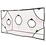 QUICKPLAY Pro Filets d'entrainement de But de Football avec 7 Zones Marquantes 3 x 2M| Pratique des Tirs de Football
