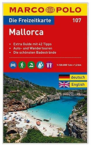 Preisvergleich Produktbild MARCO POLO Freizeitkarte Mallorca 1:120:000