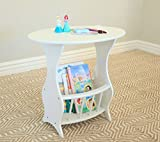 Best Wood Designs Magazines - Frenchi Furniture Magazine Table, White Review