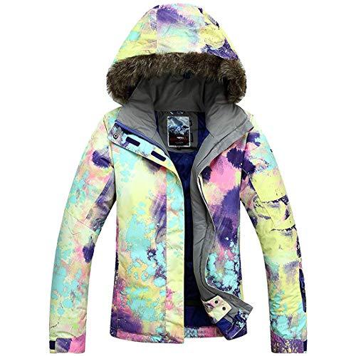APTRO Damen Skijacke warm Jacke gefüttert Winter Jacke Outdoor Funktionsjacke Regenjacke Bunte 921 XS