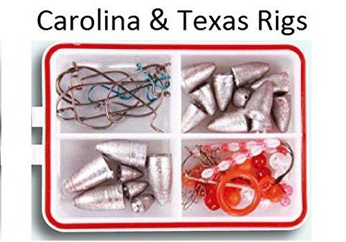 TEXAS Rig & CAROLINA RIG Set