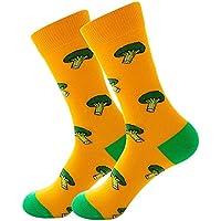 FHCGWZ 5 Teile//Satz Unisex Mode Hohe Strumpfwaren Socke Frauen 3D Fruit Happy Sock Crew Socke M/änner Lustige Kunst Baumwolle Weiche Socken