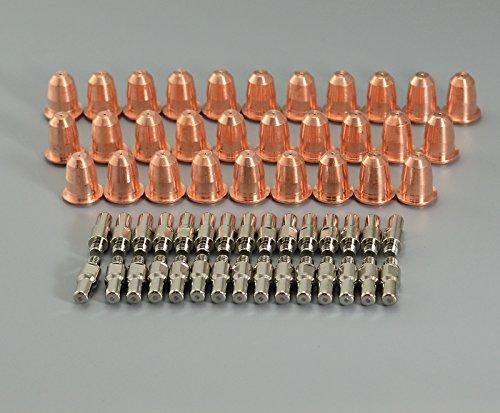 PD0116-08 PUNTA DE PLASMA Φ0 8 PR0110 ELECTRODO DE PLASMA FIT TRAFIMET S45 ANTORCHA 60PCS