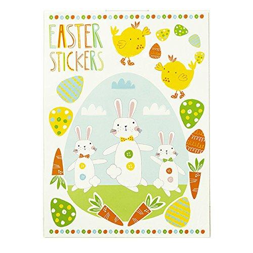 Talking Tables Ostern und Frühling Party Motto Aufkleber-Set für Ostern Ei Hunts, Party und Feiern, mehrfarbig