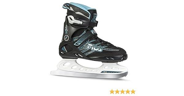 Fila Ice Shoes Damen Erste ICE Lady Schwarz-Hellblau-42,5