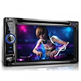 """XOMAX XM-2DTSB6219BT Autoradio / Moniceiver + Display touch screen HD / 16 cm / 6,2"""" + Riproduzione file audio e video: MP3 (tag ID3), WMA, MPEG4, AVI, DIVX, ecc. + Sistema vivavoce Bluetooh e riproduzione tramite A2DP + Lettore CD / DVD """"codefree"""" + Ingresso per USB fino a 128 GB! + Slot per schede Micro SD fino a 128 GB! + Subwoofer + Sintonizzatore RDS + Collegamento per comandi al volante + Ingresso per telecamera retromarcia + Dimensioni standard doppio DIN (DIN2) + Telecomando incluso"""