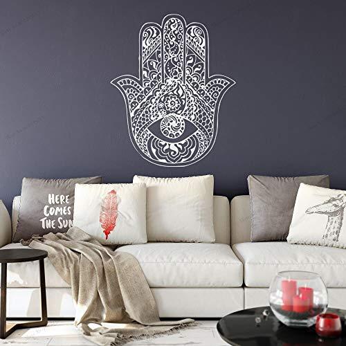 ASFGA Wohnzimmer Wandtattoo Kunst Handmadesticker Wandtattoo Yoga Studio Meditation Boho Dekoration Poster Unterhaltung 77x96cm