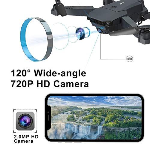 SUPER TOY 720P HD Wi-Fi Camera Drone Foldable Pocket Quadcopter