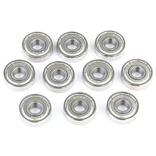 Preisvergleich Produktbild VERY 10010 Stück Kugellager, Miniaturkugellager (608ZZ 8 x 22 x 7mm)