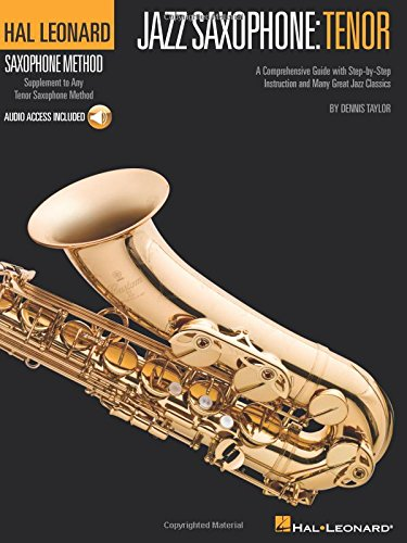 Hal Leonard Saxophone Method: Jazz Saxophone - Tenor (Book & CD)