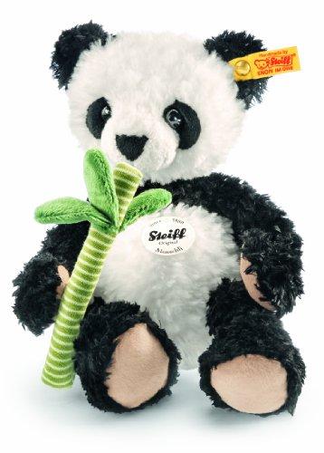 Steiff 282188 - Manschli Panda, 26 cm, weiß/schwarz