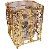 Zhhlinyuan Retro Casa Accessories Creative Trash Cans Luxury Storage Barrels JJBS-003