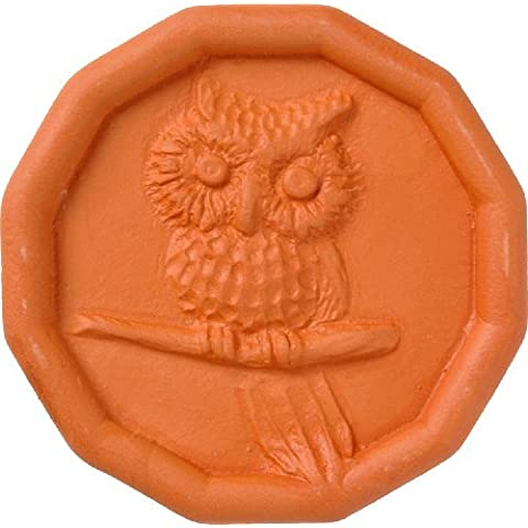 JBK Owl Terra Cotta Brown Sugar Saver by JBK Pottery