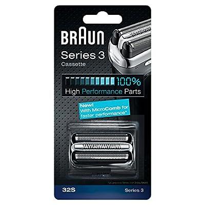 Braun Replacement Foil & Cutter Cassette - 32S, Series 3 - Silver