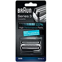 Braun - 65774761 - Combi Pack 32s - Recharge Grille / Couteaux pour Rasoirs Series 3