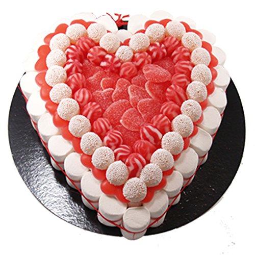 Fruchtgummi Torte - Heart 27 cm