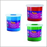 #4: Jovi Finger Paint Value Pack of 3 jars of 125 ml each - Red, Blue and Green
