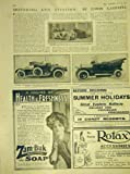 Annonce 1911 de Panhard Arrol-Johnston Cadillac d'Automobile