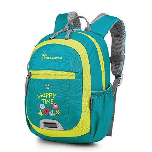 Mountaintop 5L Mini Backpack Kinder Rucksack Schulrucksack Kindergartentasche, 24 x 31 x 14.5CM (Grün3)