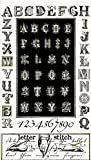 Quilting Treasures ABC Stoff-Typografie Buchstaben