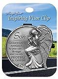 Angelstar Sohn Visier Clip, rund, Metall, Mehrfarbig
