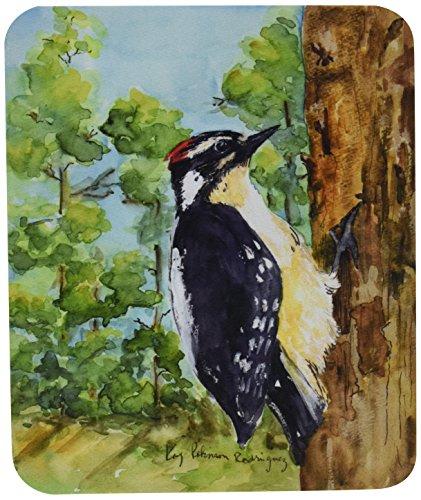 carolines-treasures-mouse-hot-pad-trivet-bird-downy-woodpecker-kr9020mp