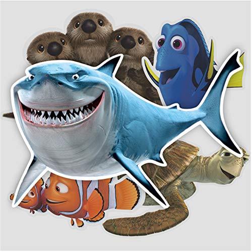 scz Suche Nach NemoShark Koffer Gepäck Aufkleber Travel Case Label Wall Sticker -
