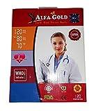 ALFA GOLD DIGITAL BLOOD PRESSURE MONITOR