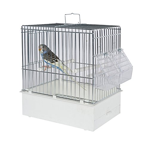 Pet Ting Vogel Transport Käfig XL – Vogel Travel Käfig – Finch – Kanarienvögel, Wellensittiche etc.