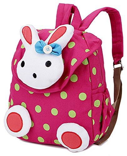 Imagen de  infantil guarderia saco para bebes conejo animales preescolar diseño algodón rosa niña alternativa