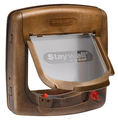 staywell-420gifd-chatiere-aimantee-4-modes-douverture-revetement-bois