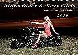 Motorräder und Sexy Girls 2019 (Wandkalender 2019 DIN A2 quer): Stilvoll gestaltete Bilder mit schweren Maschinen und heiße G