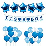 #10: Theme My Party Baby Boy Balloon Combo For Welcome Baby