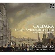 Caldara: Sonate à violoncello solo, col basso continuo