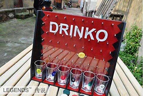 Drinko Shot Game Tasse Glas KTV Bar Werkzeug Requisiten/Entertainment Bier trinken Wein trinken Familie Party Lebendige Atmosphäre Werkzeug