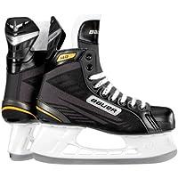 Bauer Niños Patines de hockey sobre hielo, color negro, 05.0/38.5