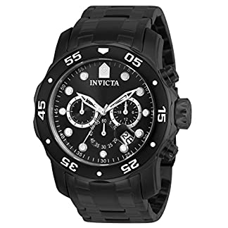 Invicta Analog Black Dial Men's Watch – 76