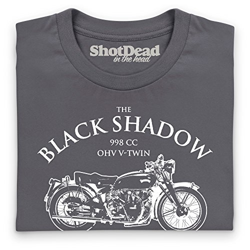 Black Shadow T-Shirt, Herren Anthrazit