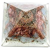 Orgonite Pyramid - Larimaar + Rodhocrosite 3-3.5 inch Chakra & Reiki Healing Aura Cleansing Crystal. preisvergleich bei billige-tabletten.eu