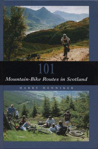 101 Mountain Bike Routes por Harry Henniker