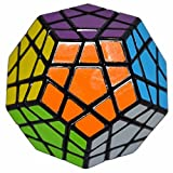 Megaminx Cube 3x3 Speed Dodecaedro Cubo, LSMY Giocattolo nero