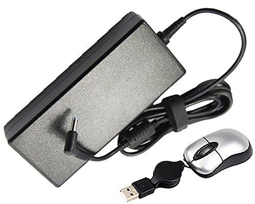 amsahr 120W-HP37-05 Ersatz AC Power Adapter für HP/Compaq 19.5V, 6.15A, 120W, 710415-001, PA-1121-62HE - Umfassen Mini Maus schwarz -