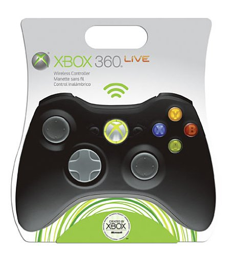 Control Pad X-Box 360 Wireless - black (Microsoft)
