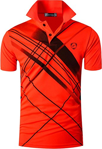 Jeansian Hombres Verano Deportes Wicking Transpirable