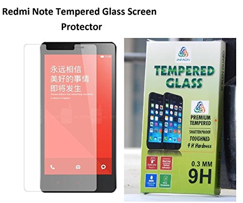 "JAIFAON Premium Xiaomi Redmi Note 5.5"" Premium Tempered Glass Screen Protector (Clear)"