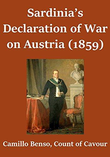 Sardinia's Declaration of War on Austria (1859) (English Edition)