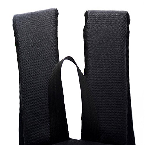OverDose 1 PC Garçons Filles Unisexe Toile Sac de Ruck Sac à dos Livre scolaire Sac d'épaule Noir