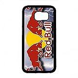 UltradüNnem HandyhüLle Samsung Galaxy S6 HüLle,Red Bull Handy ZubehöR,Energy Drink Red Bull HandyhüLle,TPU Silikon Schutz Handy HüLle,Red Bull Logo Schutz Handytasche